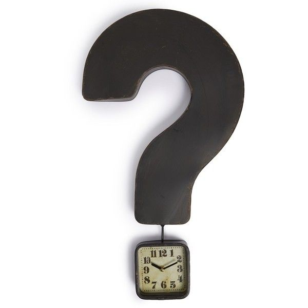 So Cool Home Decor Pinterest Question Mark Primitives And Clocks