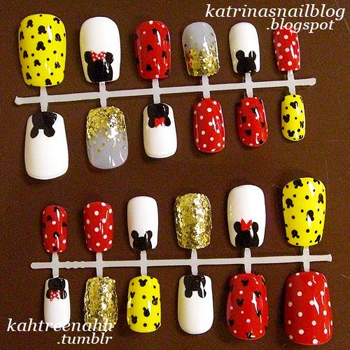 Katrina's Nail Blog: new layout & nail set for sale;