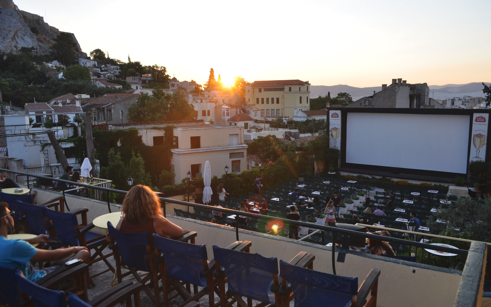 A Quick Guide to Athens's Many Outdoor Cinemas Outdoor