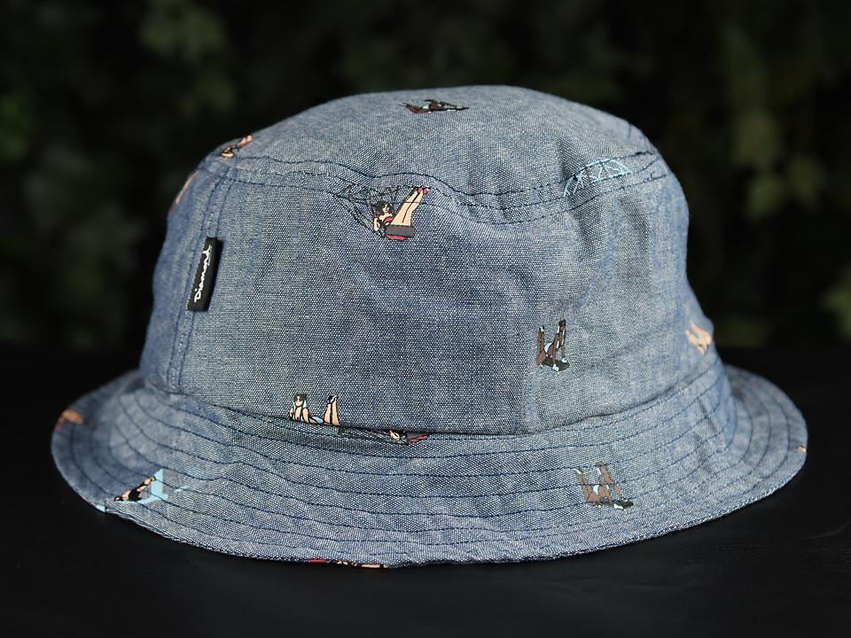 11ae8a71630cd Diamond Supply Co. Pin Up Bucket Hat  B16DMHH04-CHBY