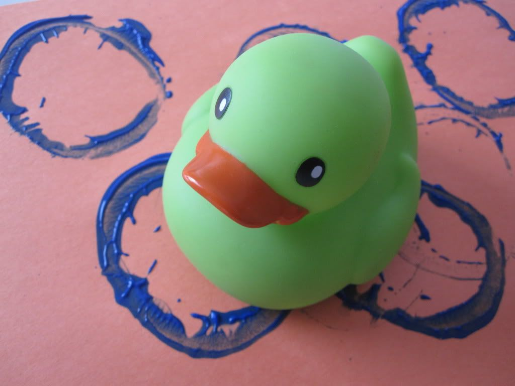 Rubber Duck Painting