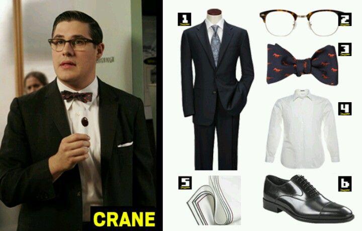 Harry crane - mad men attire
