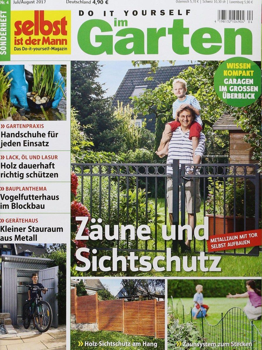 Selbst Ist Der Mann Garten 4 2017 Zeitungen Und Zeitschriften Online In Bezug Auf Selbst Ist Der Mann Garten Von Selbst Ist Der Mann Garten Garten Baseb