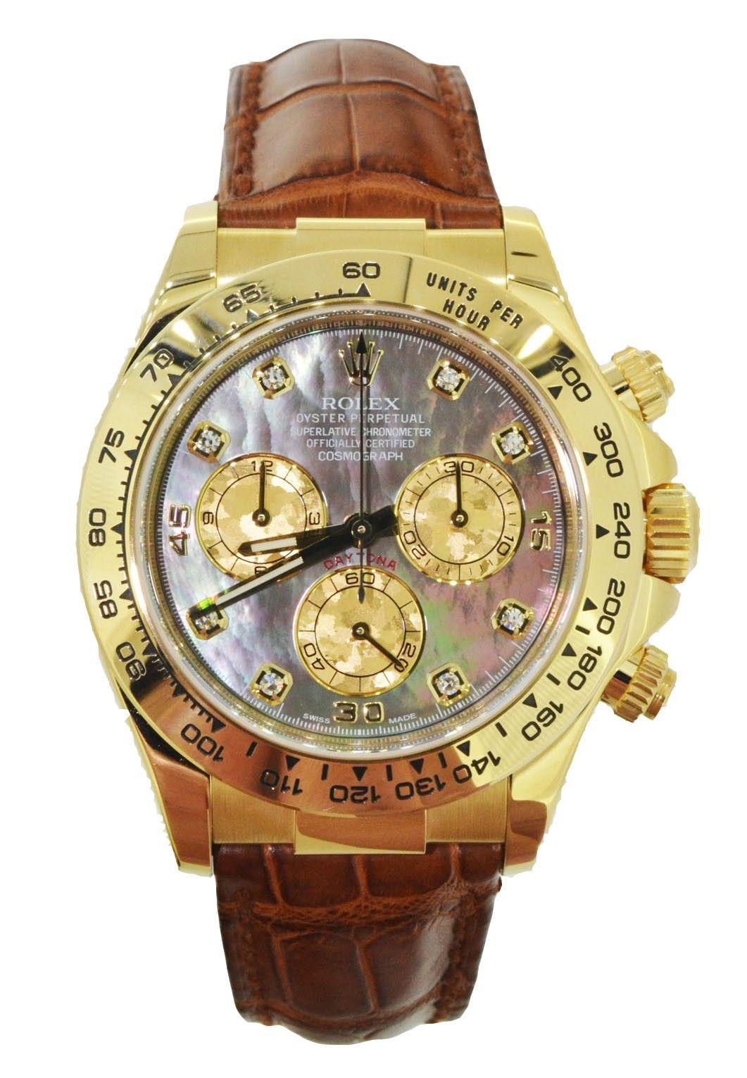 Rolex daytona ct yellow gold rolex sports watches