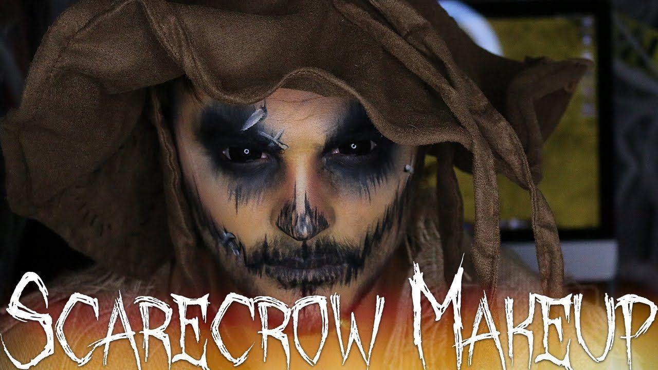Scarecrow halloween makeup tutorial 31 days of halloween scarecrow halloween makeup tutorial 31 days of halloween baditri Gallery