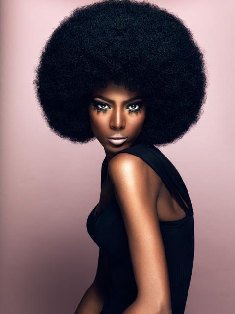 Perfect fro. Coiffure cheveux naturels, Style de cheveux