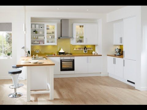 Stockbridge Matt White Contemporary Kitchen From Howdens Joinery Kitchen Design Small White Modern Kitchen White Contemporary Kitchen
