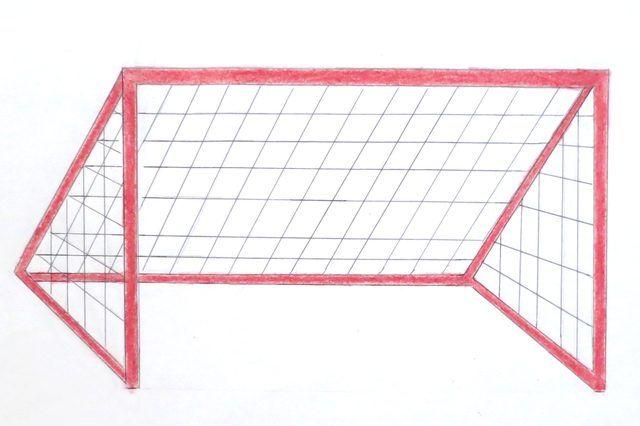 How To Draw A Soccer Goal Soccer Goal Soccer Soccer Pro