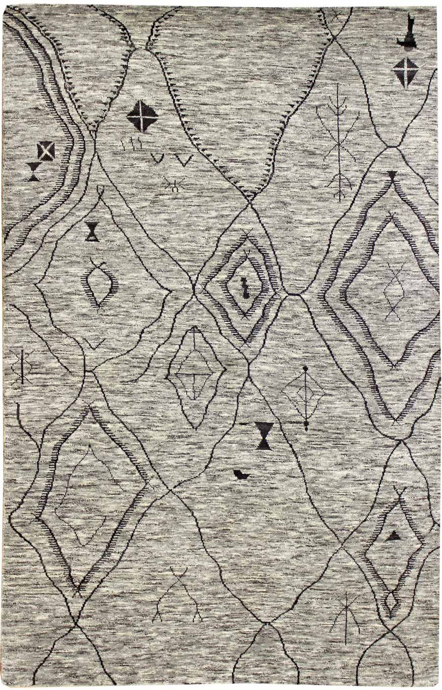 Modern Geometric Pattern Rugs Gallery Palm Modern