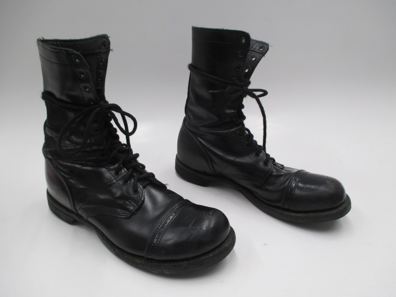 Corcoran Black Leather Full Force