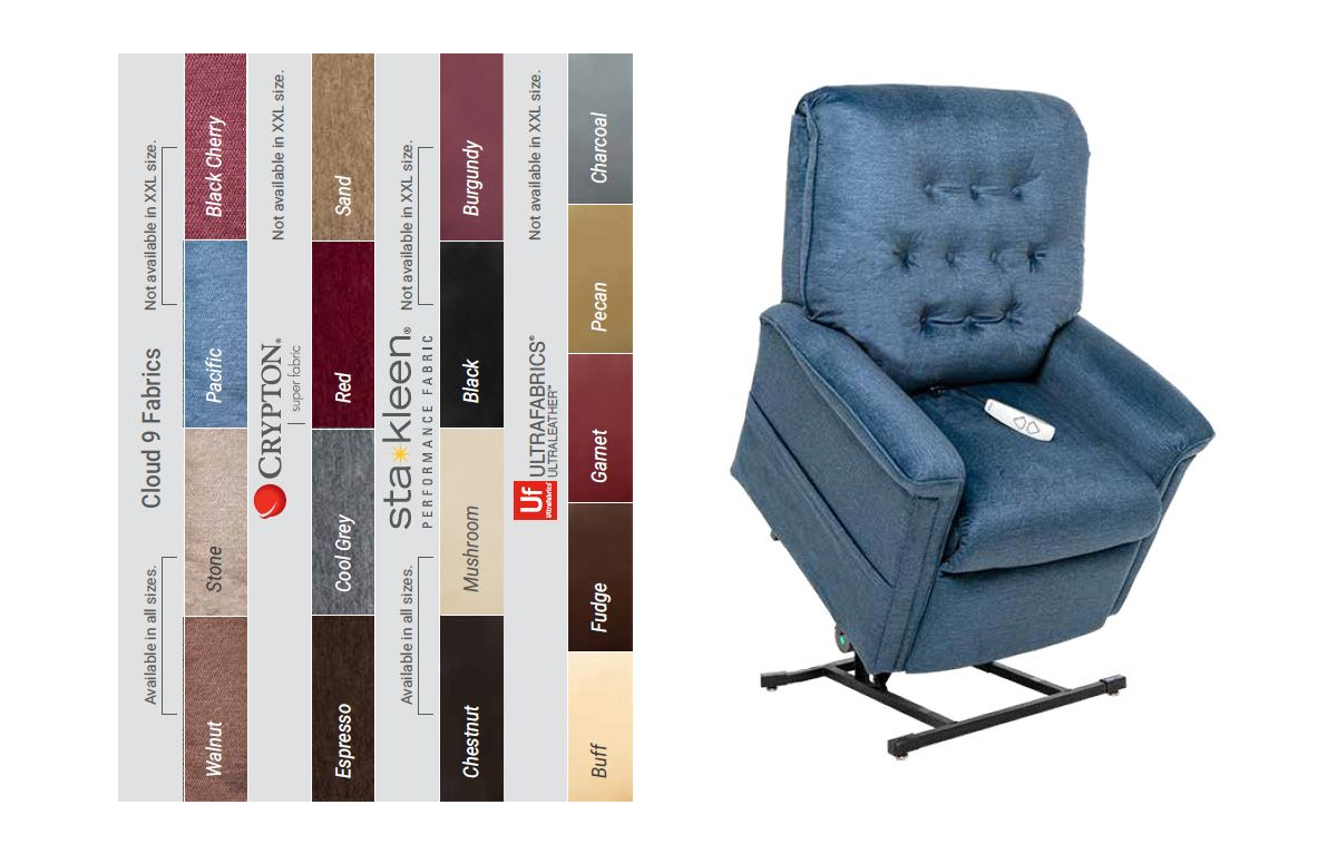 Lc358l heritage lift chair lift recliners pride