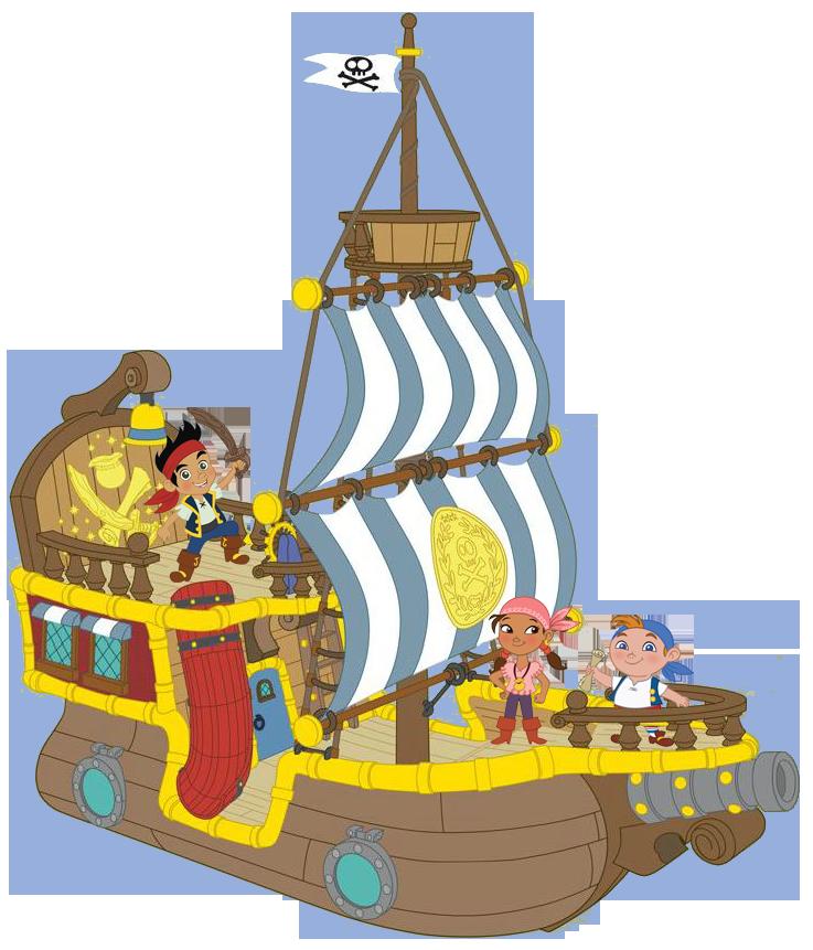 Jake Gang On Ship Clip Art Faire La Fete Piniata Clipart
