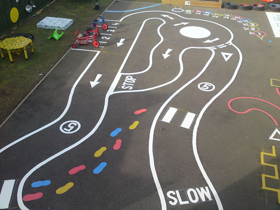 playground roads - Bing Images | outdoor for school ...