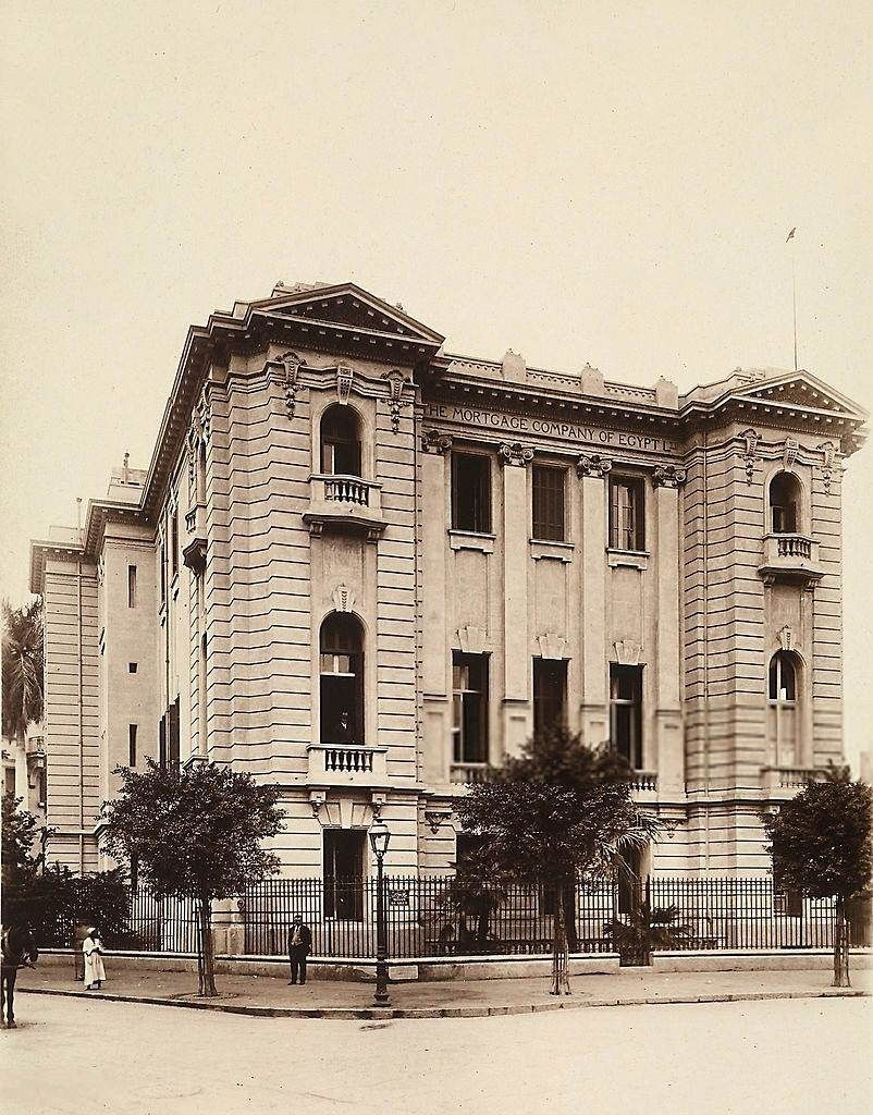 Italian Style Architecture The Mortgage Company Of Egypt  # Bibliotheque Saraya