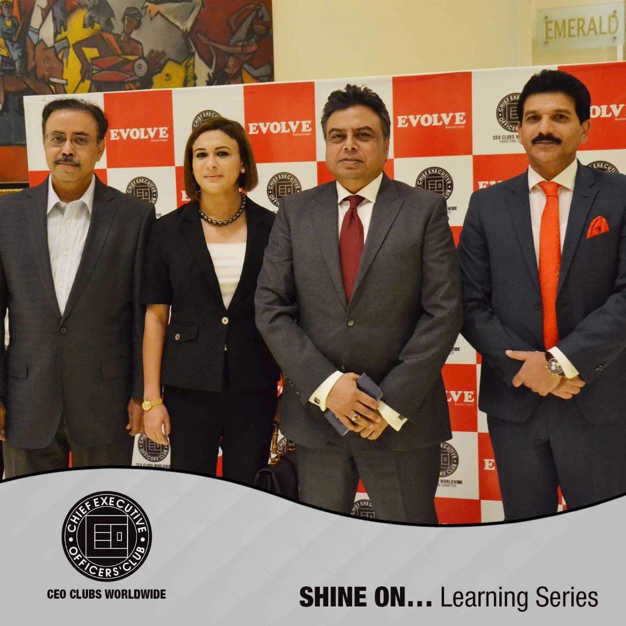 Dr. Faika Khan with Chief Executive Officers Club Fall