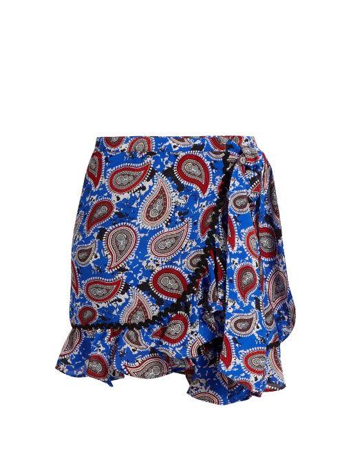 d1a1dc857d DODO BAR OR . #dodobaror #cloth #skirt   Dodo Bar Or   Printed ...