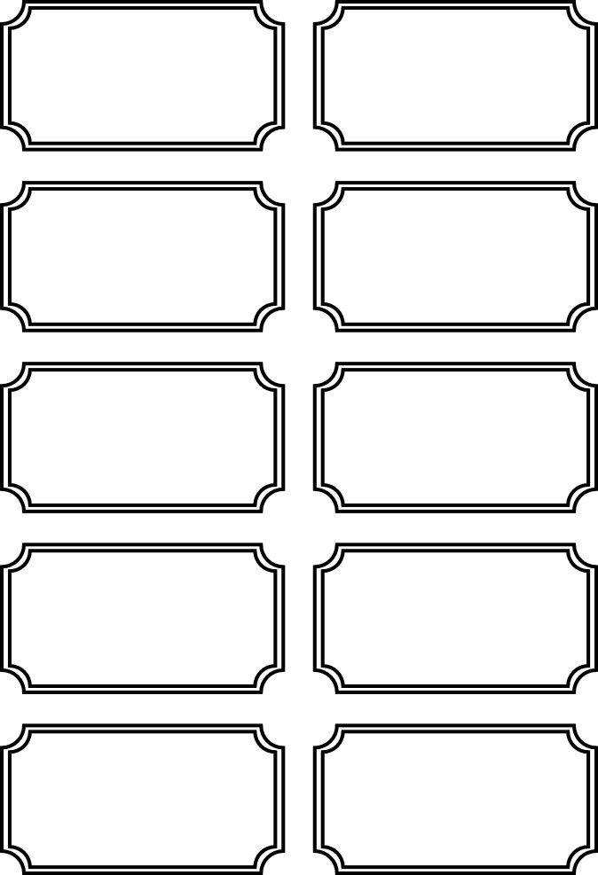 ticket coloring pages | Admission ticket | picks | Ticket template free, Printable ...