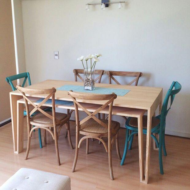 disenoarquitectura.cl-mesa-comedor-m20-4 | Casa | Pinterest ...