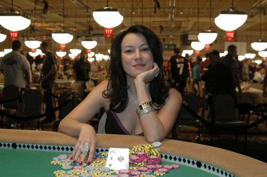 Portrait Of A Skill Set Womanly Wiles Jennifer Tilly Poker Champion Poker Online Poker Bride Of Chucky