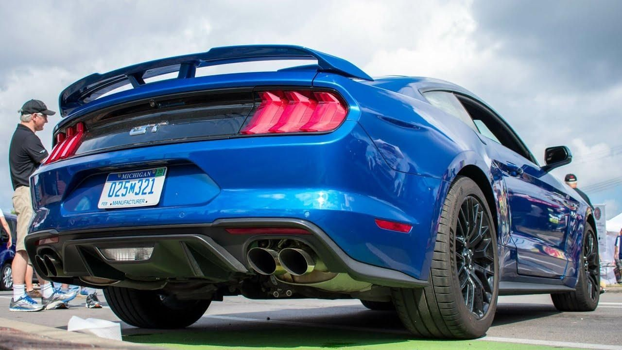 2017 Vs 2018 Mustang >> 2018 Ford Mustang Gt Vs 2017 Vs 2016 Exhaust Overview