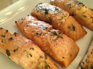 Irish Whiskey Roasted Salmon