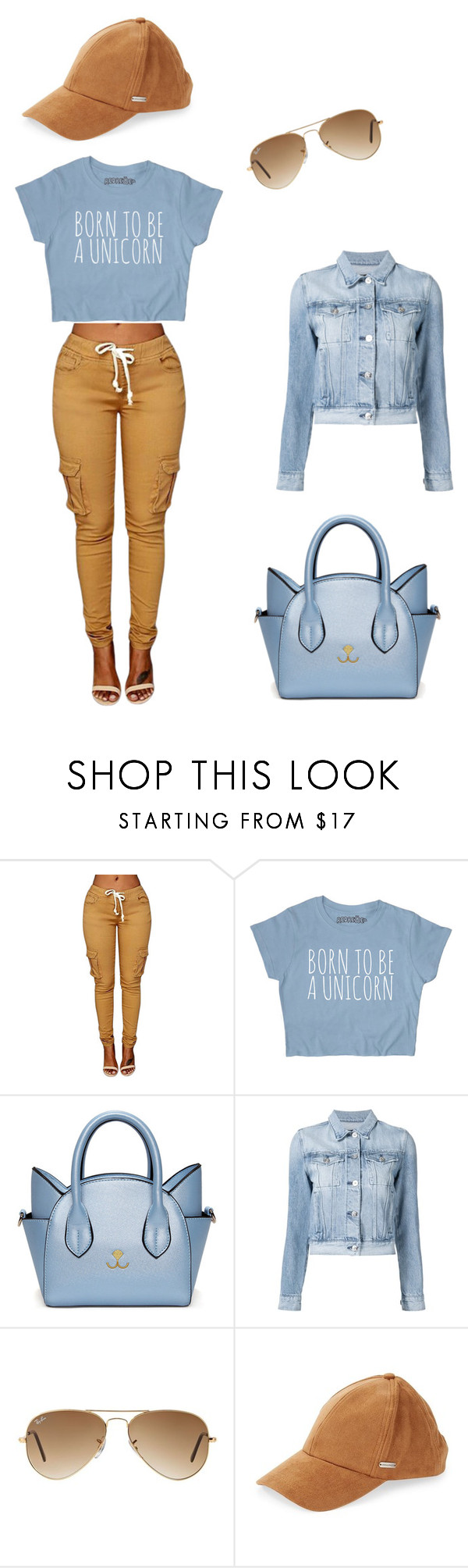 """""""Trendy"""" by almamehmedovic-79 ❤ liked on Polyvore featuring 3x1, Ray-Ban and Steve Madden"""