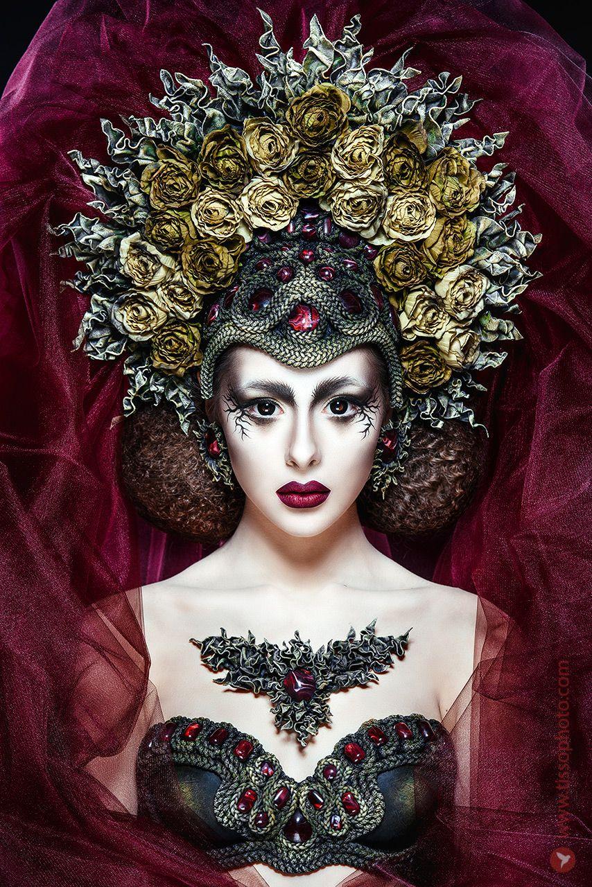 Artportrait, queen, beauty, model, face, portrait, studio