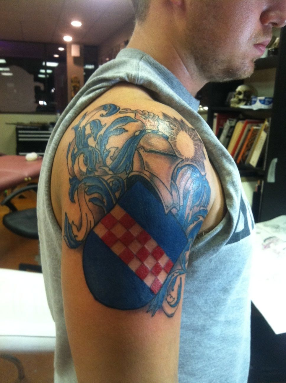Family Crest Tattoos Designs And Ideas Page 21 Family