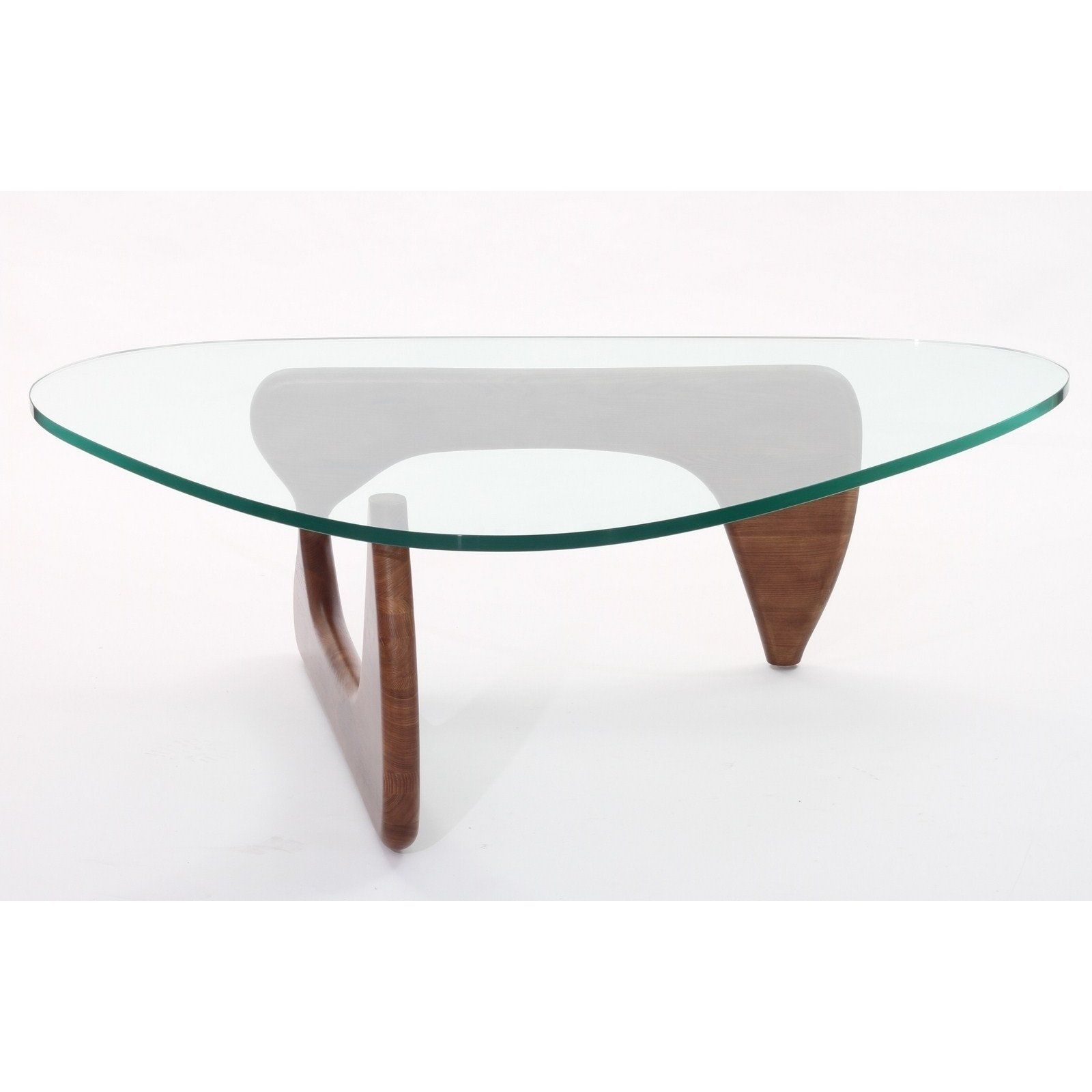 Have To Have It Modway Triangle Light Walnut Glass Top Coffee Table 416 99 Triangle Coffee Table Glass Top Coffee Table Coffee Table [ jpg ]