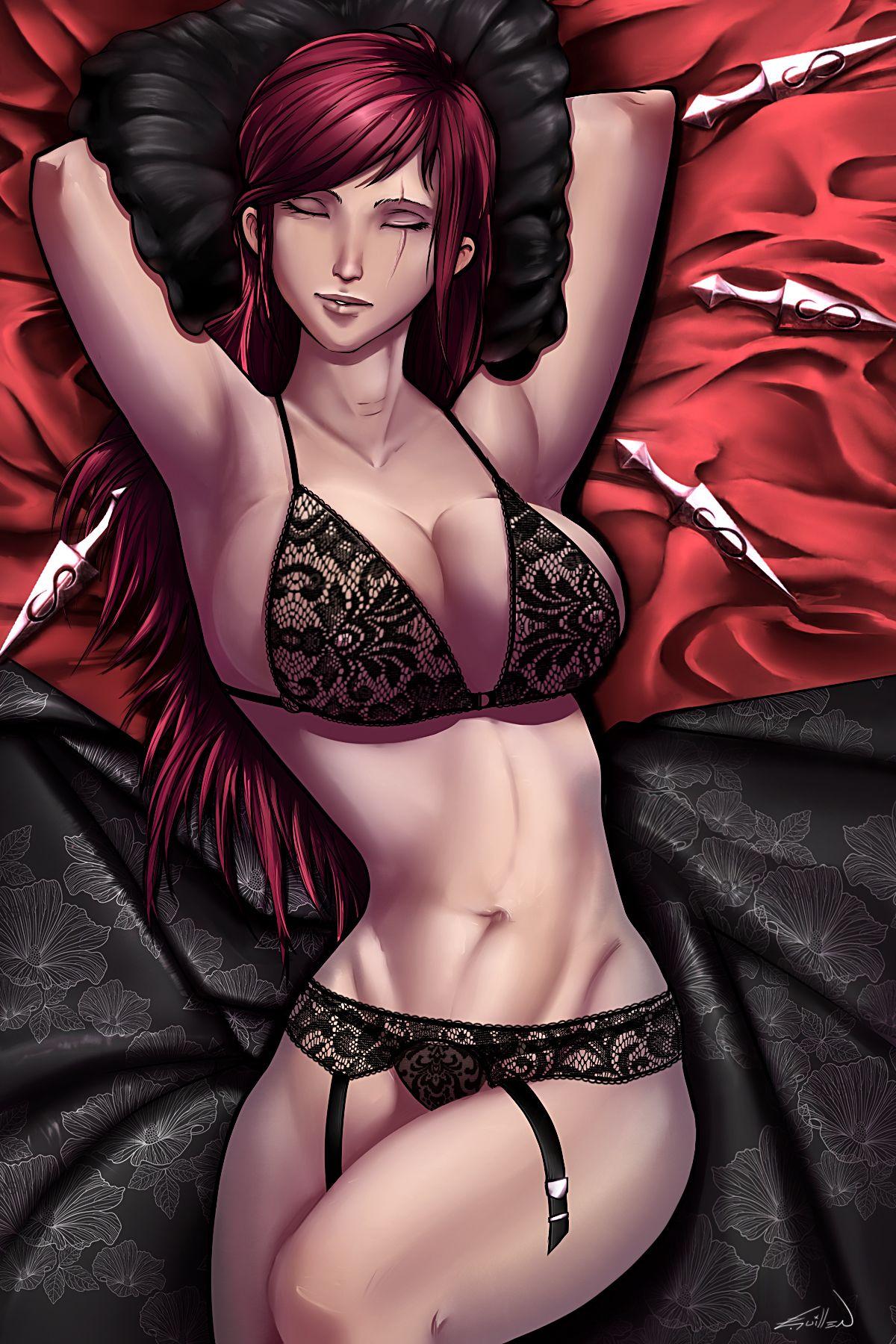 5390f7ae296 Lingerie Katarina by Zeth-09.deviantart.com on @DeviantArt | beauty ...
