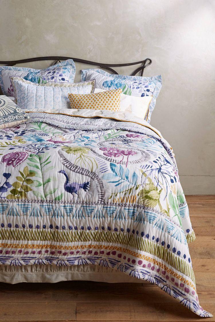 Anthropologie white bedroom - Zanzibar Quilt Anthropologie Beddingwhite Bedroomdream