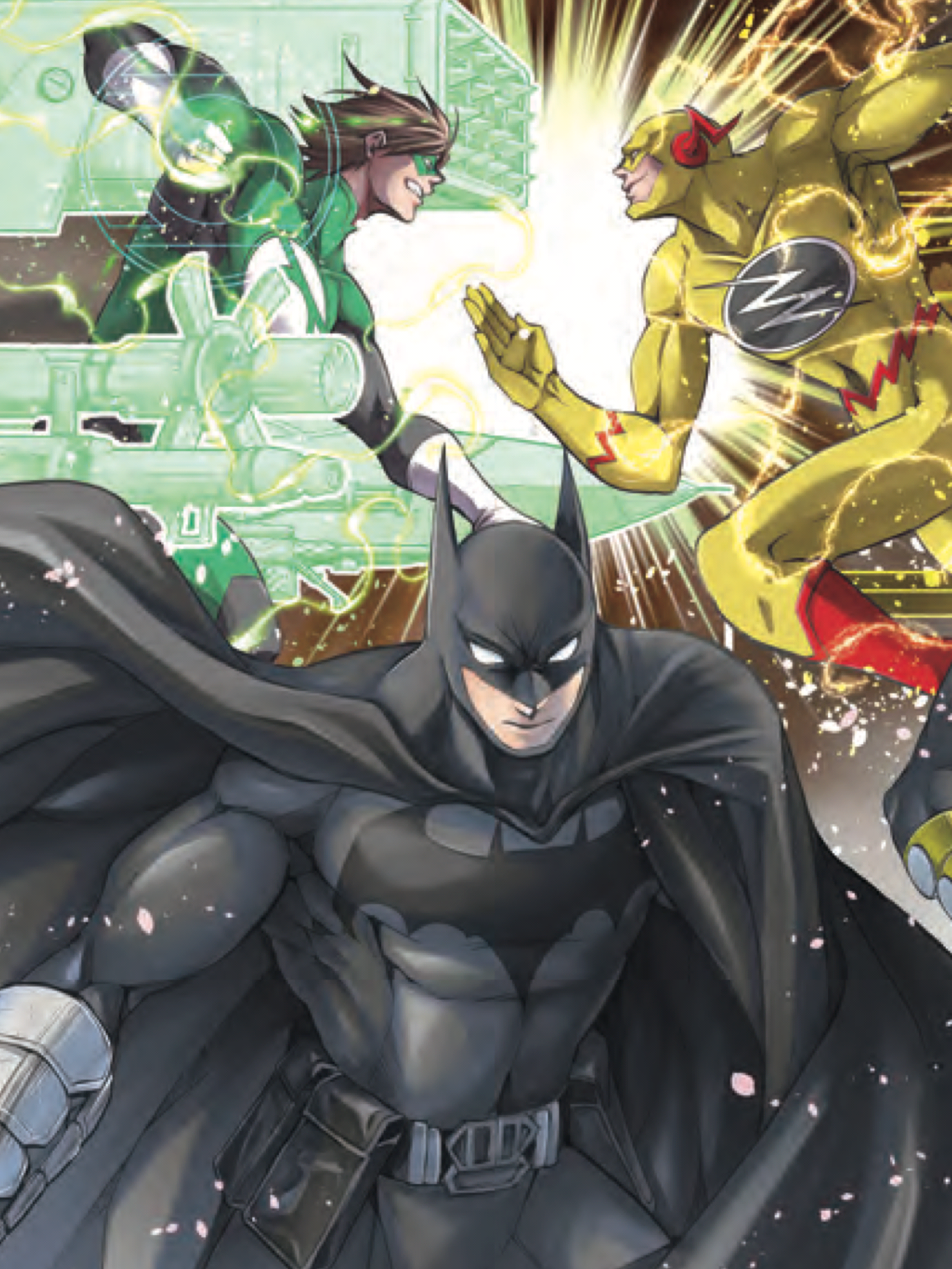 Batman Batman, Green lantern hal jordan, Anime