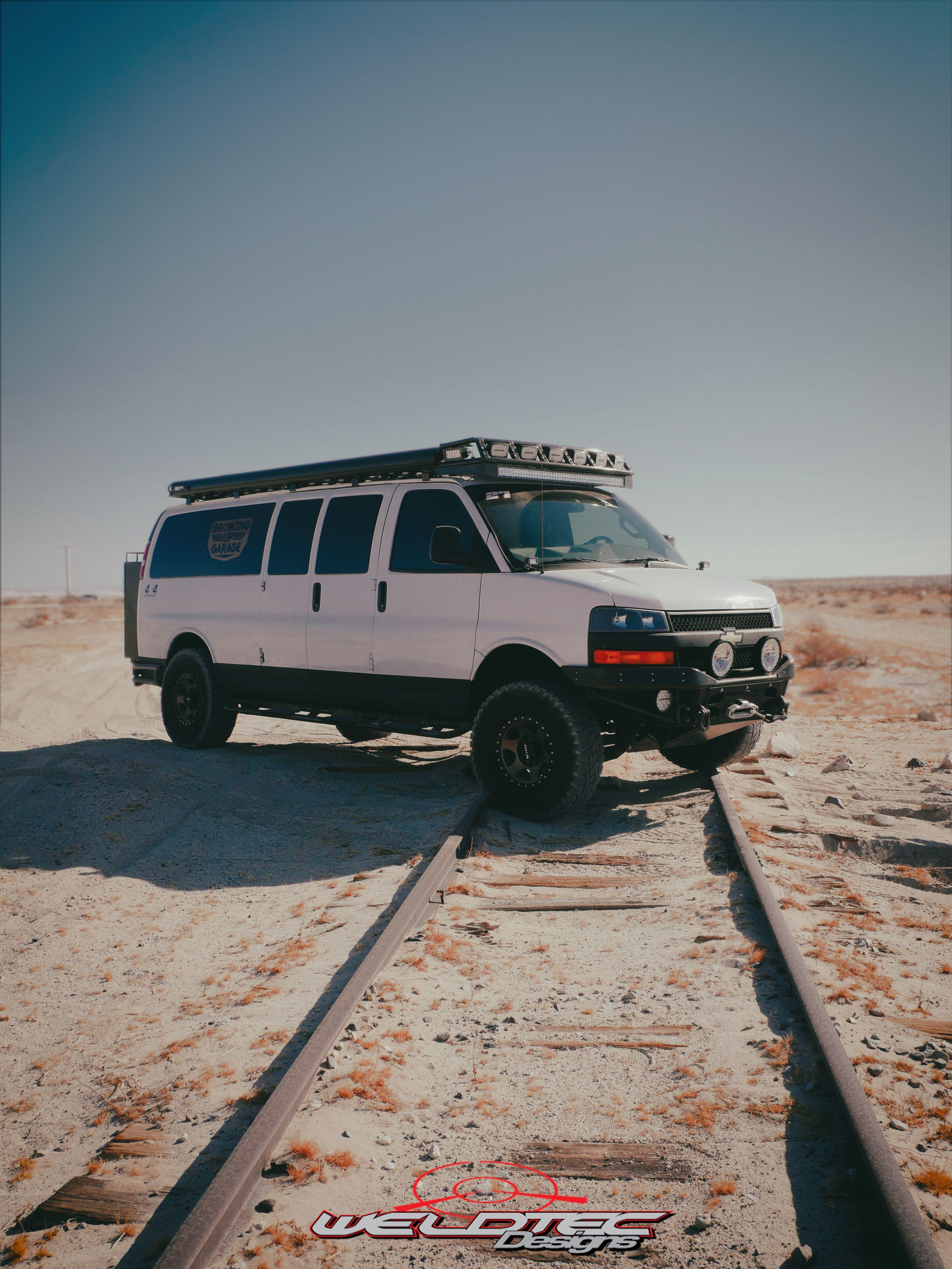 Chevy Express Van 4x4 Chevy Express Van 4x4  Weldtec Designs Weldtecdesigns Chevrolet 4x4 performan