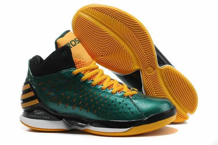 size 40 041f9 11b18 Basketball Shoes at Price! D Rose 3.0 G48876 Pine Green Yellow   adidasbasketballshoes