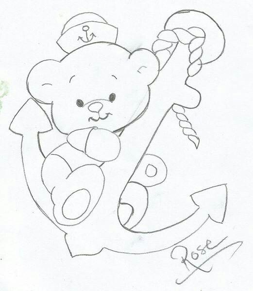 Resultado de imagen de oso marinero en tela | marinero | Pinterest ...