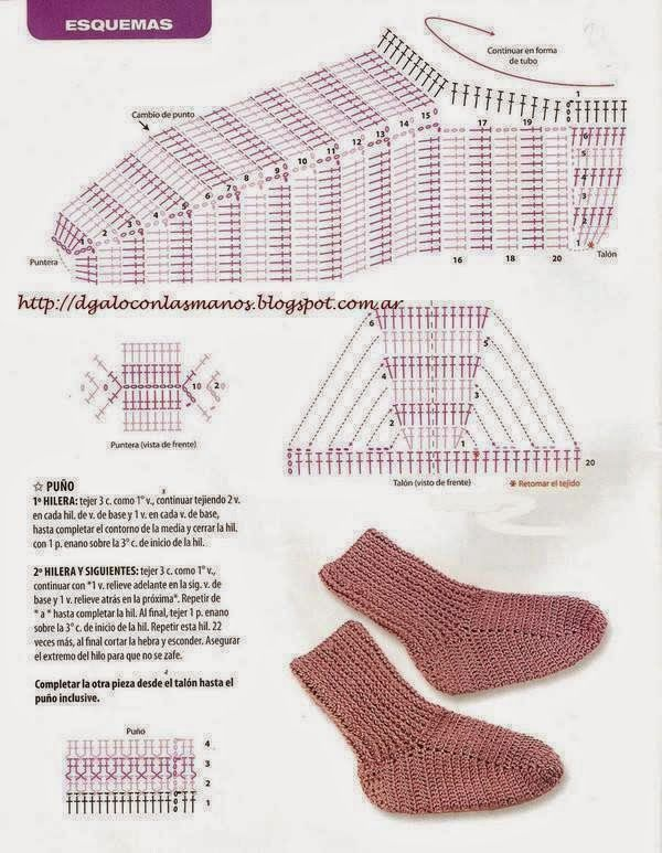 ESQUEMAS DE CROCHET | PATRONES CROCHET | crochet patterns ...