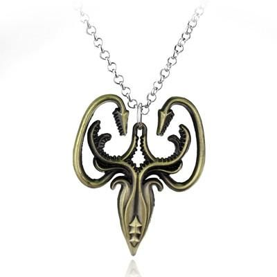 Game of Thrones House Sigils Pendant Necklace