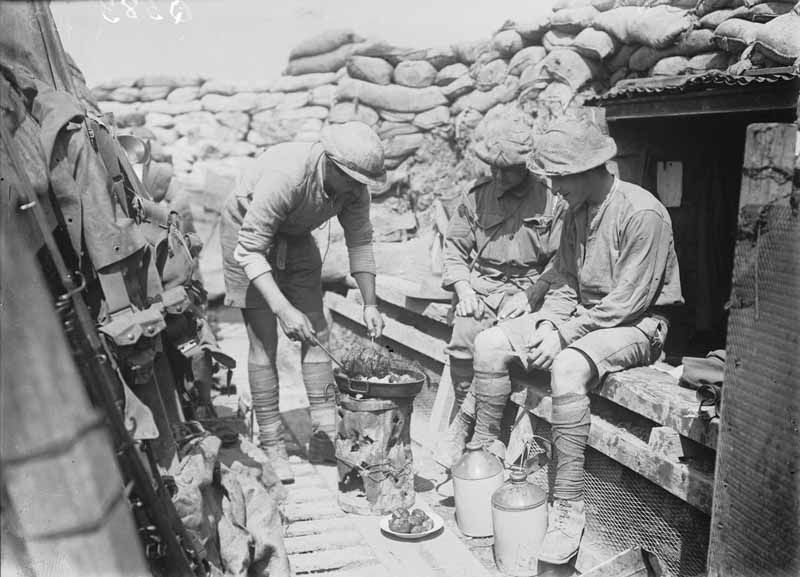 the life of soldiers being in front of the line trench The daily life of soldiers article by: paul cornish themes: life as a soldier, the some musically inclined french soldiers even formed 'trench orchestras' soldiers on the eastern front sent home postcards made from the bark and wood of the abundant local trees.