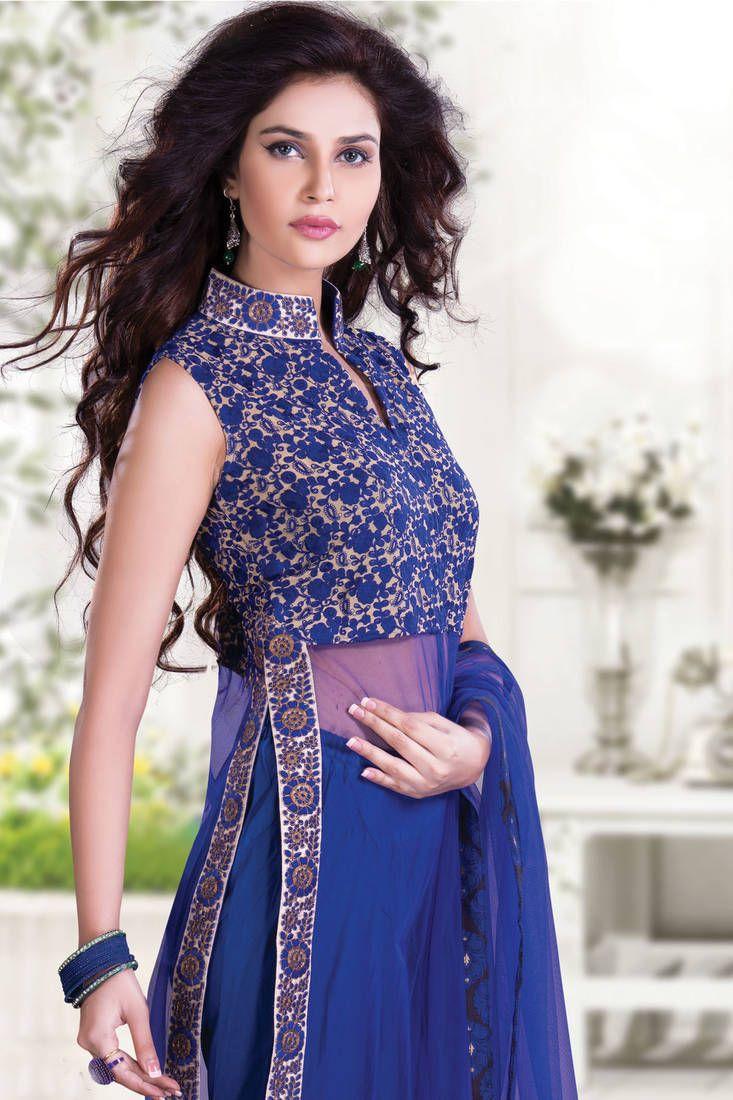 Increíble Vestido Indo Occidental Para El Matrimonio Bosquejo ...