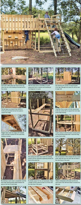 Kids Climbing Frame Plans Children S Outdoor Plans And Projects Woodarchivist Com Kids Climbing Frame Kids Climbing Backyard Play