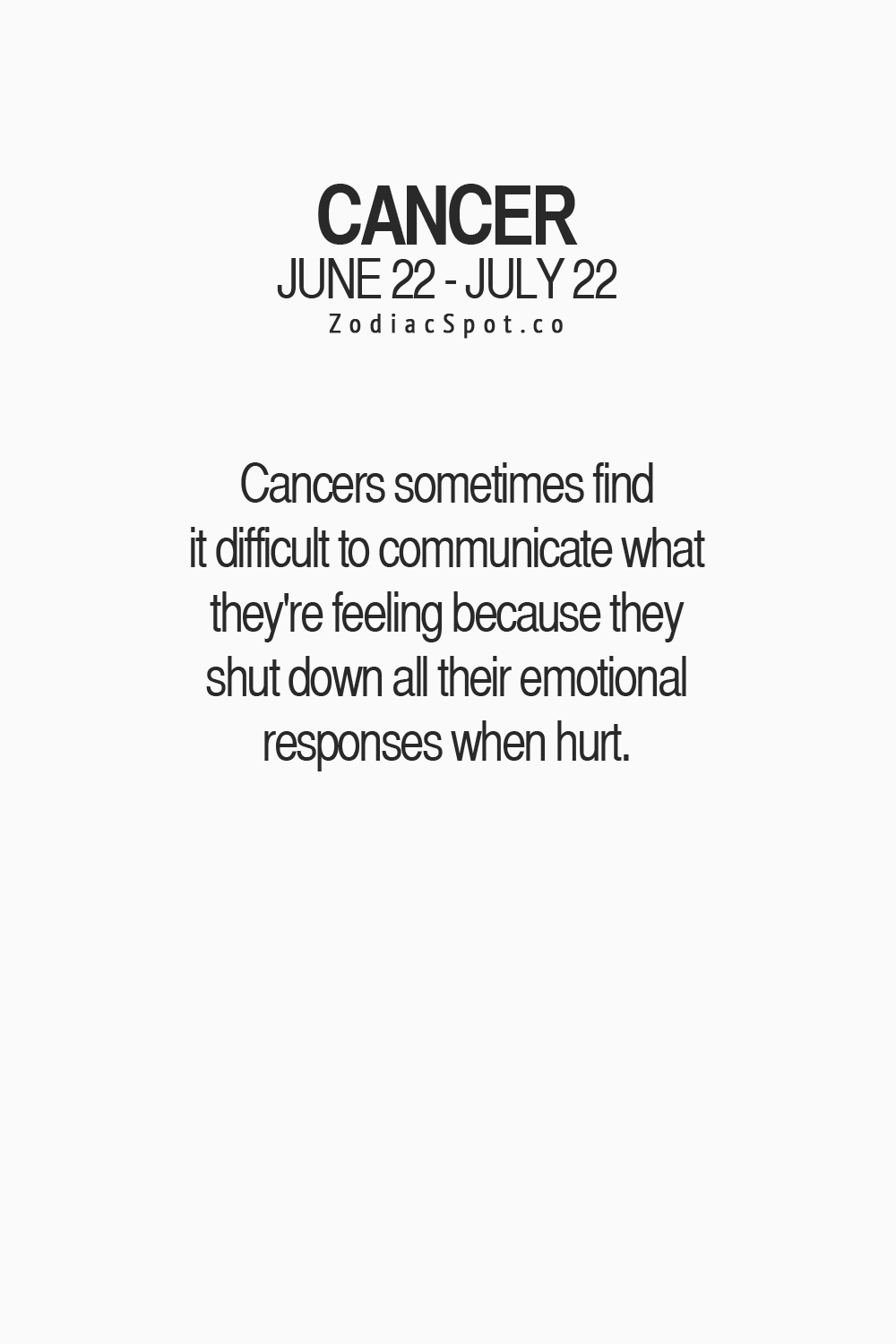 Typical Zodiac Sign Issues