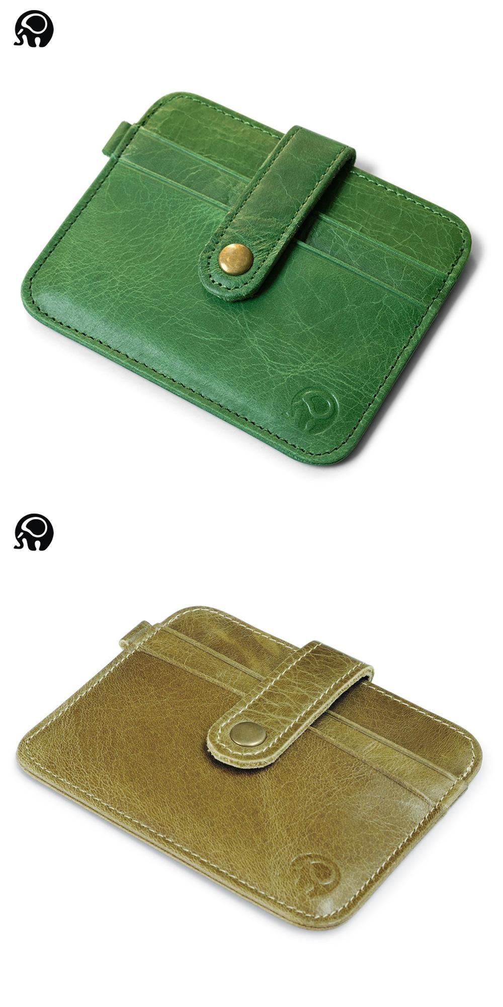 Visit to Buy] 2017 Genuine Leather Visiting Cards Men Wallet ...