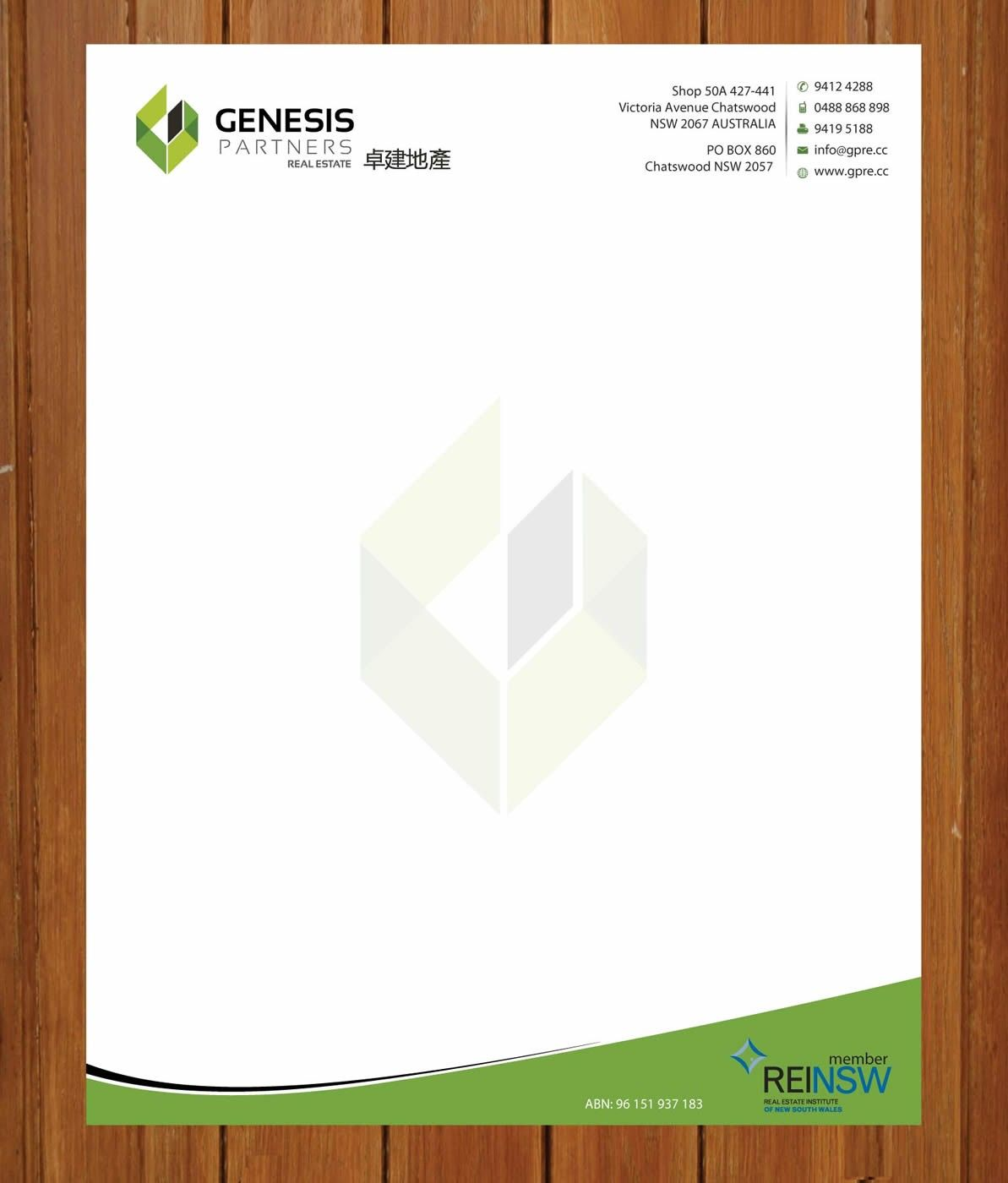 business letterhead designs custom company letterheads usa design