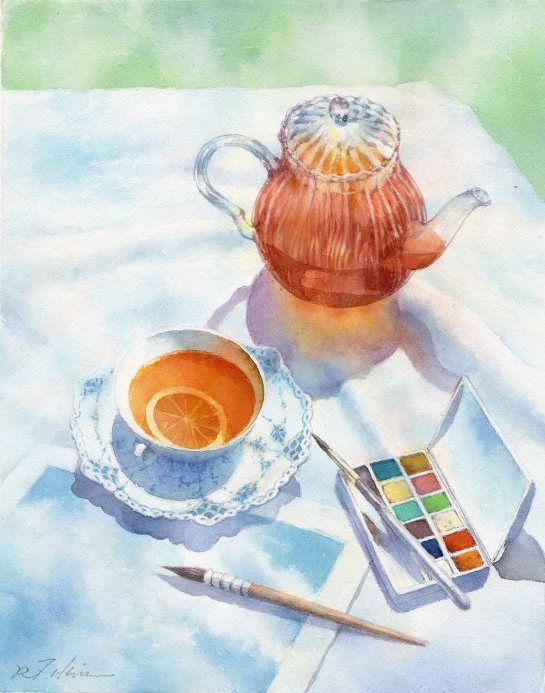 福井良佑 水彩画作品集 永久の旅と癒しの光を描く 風景花などの
