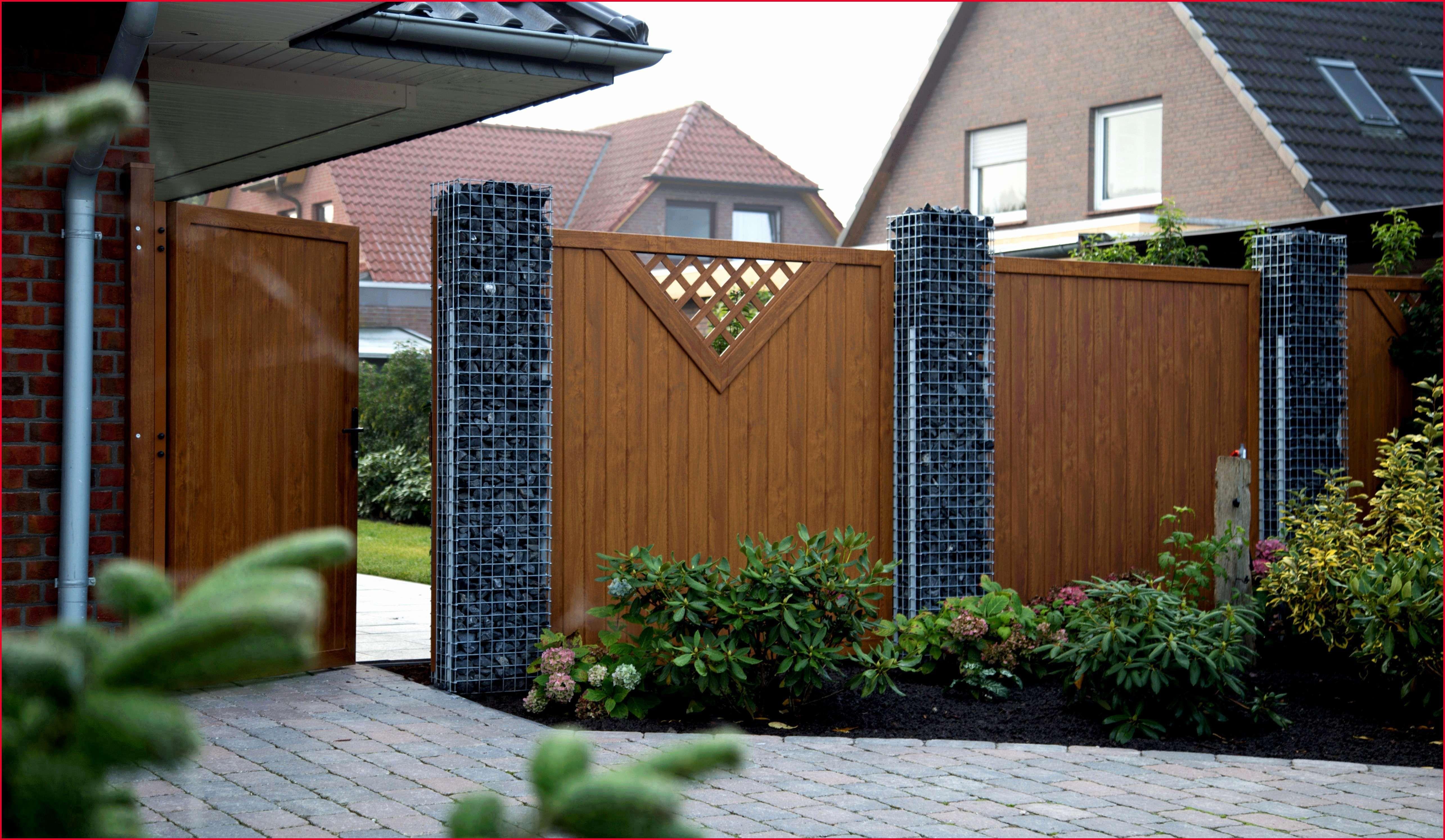 Design 44 Zum Gartentor Blickdicht Anthrazit Zaun