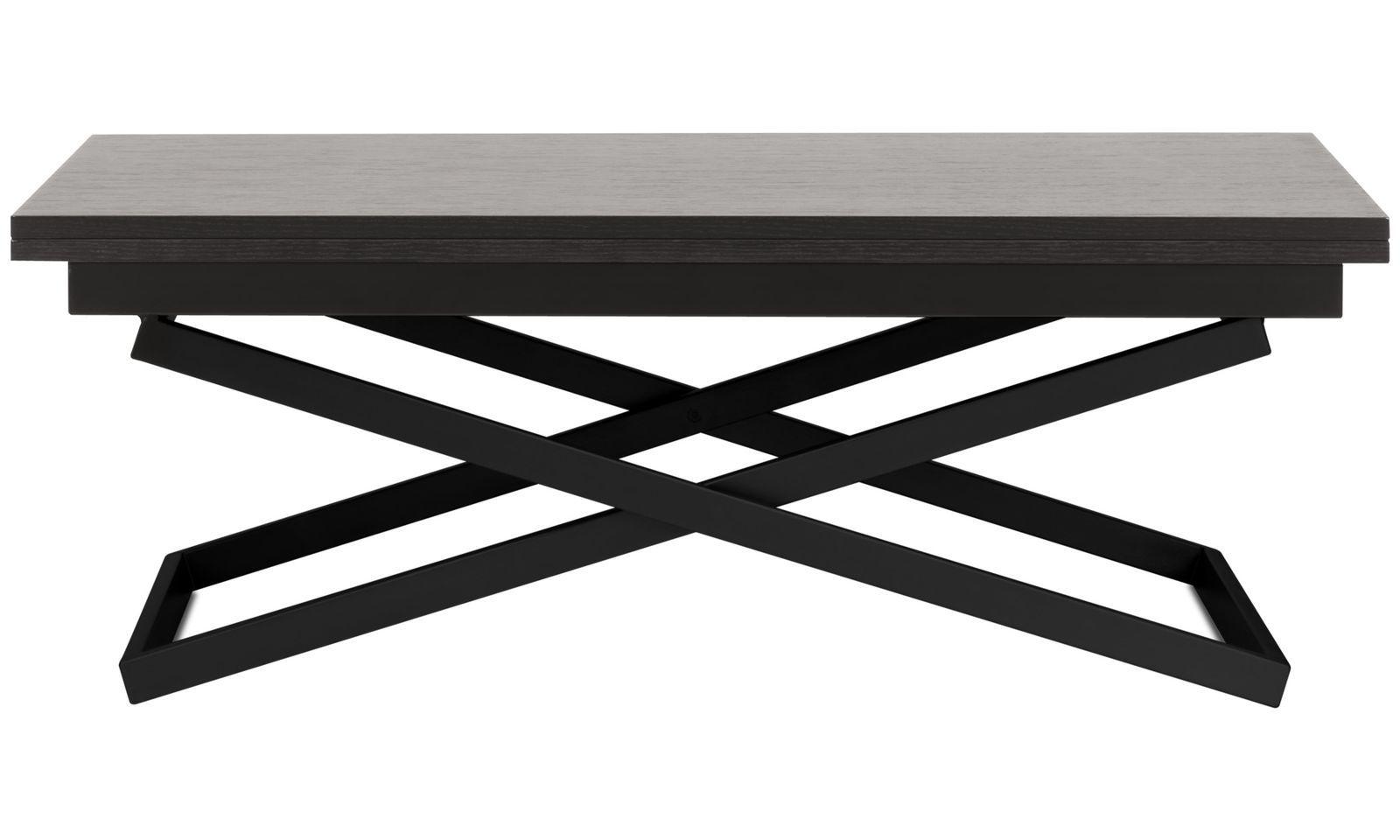 Couchtische Rubi Verstellbarer Tisch In Hohe Und Grosse Rechteckig Schwarz Eiche Verstellbarer Tisch Tisch Hohenverstellbar Couchtisch Design
