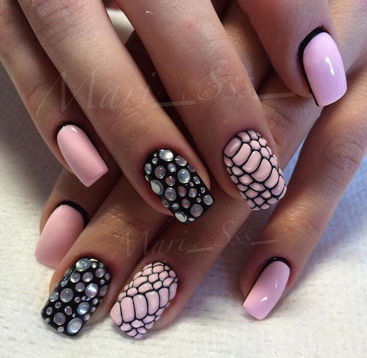 Nail Art #1178 - Best Nail Art Designs Gallery | Mix match nails ...