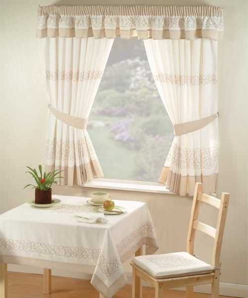 Para que veas m s modelos de cortinas para cocinas for Cortinas salon rustico
