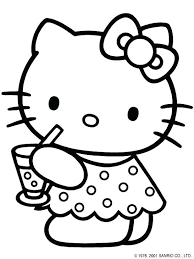Google Image Result For Http Dorogaru Info Wp Content Uploads 2018 05 Hello Kitty Tea Hello Kitty Coloring Hello Kitty Printables Hello Kitty Colouring Pages