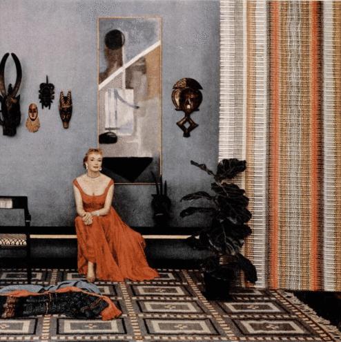 design by William Pahlmann, painting by Theodoros Stamos circa 1952